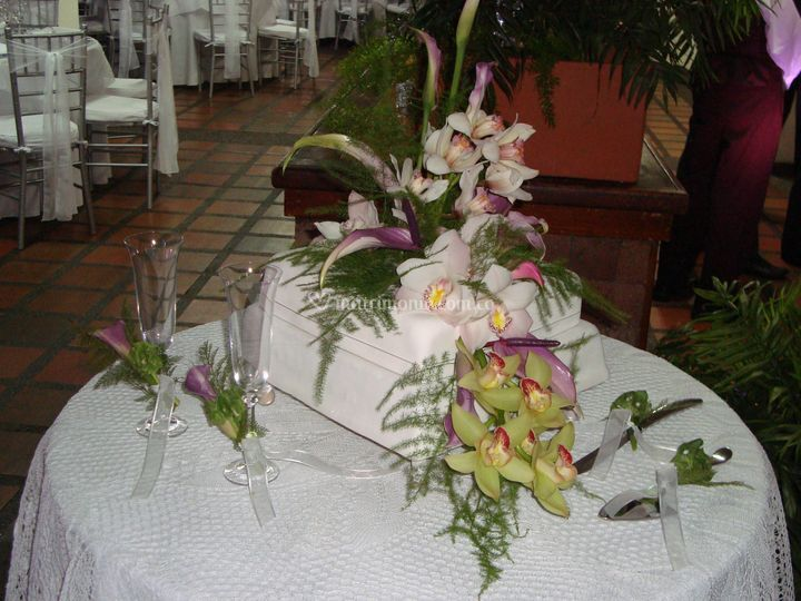 Decoración Torta