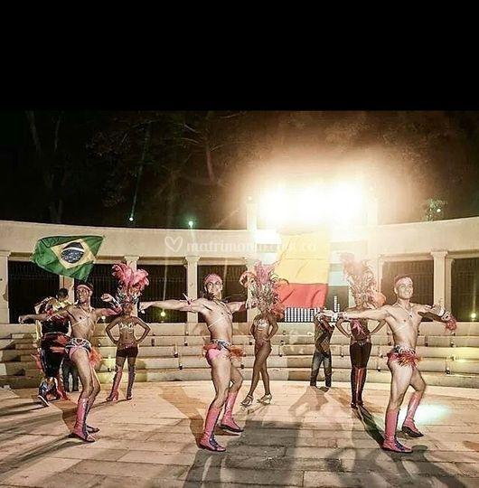 Samba crazy time