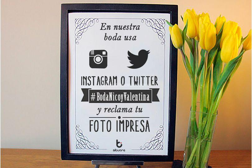 Promociona Hashtag Print