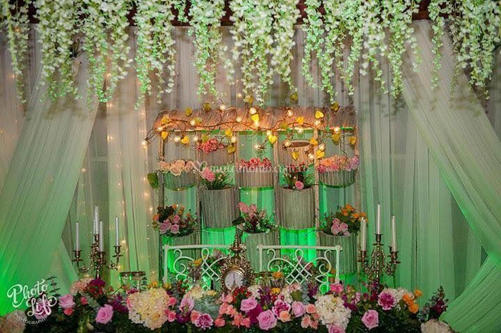 Mesa recién casados
