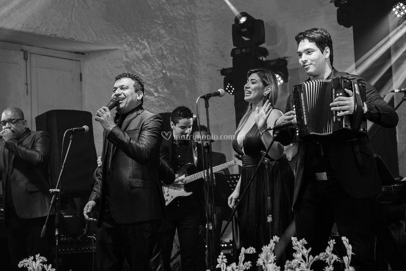 Orquesta y vallenato en vivo