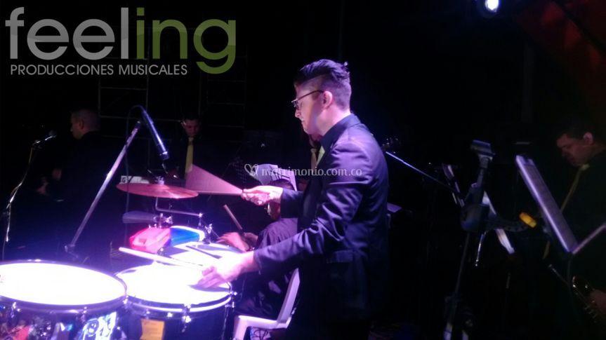 Feeling drums