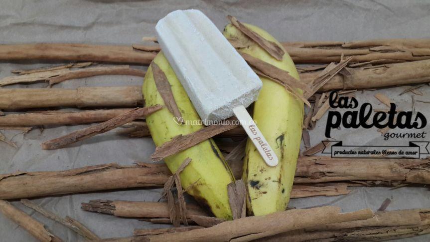 Banano Rostizado con Canela