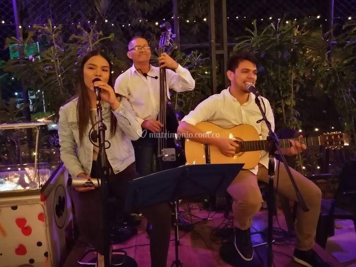 Formato de 3 músicos