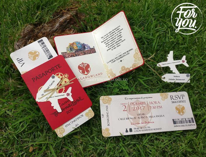 Pasaporte tomorrowland