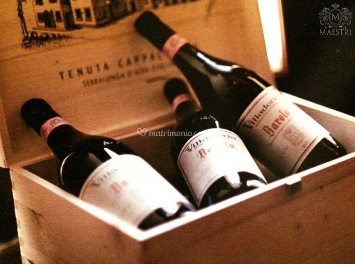 Vinos italianos selectos