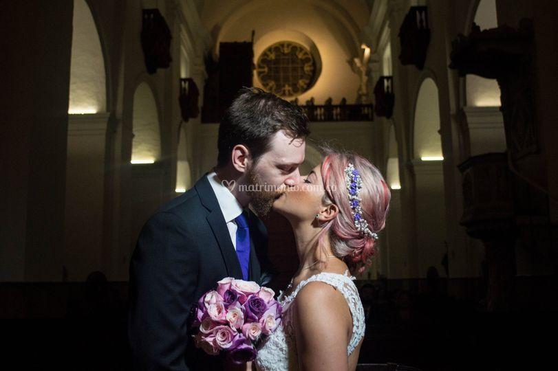 Ceremonia, iglesia, boda