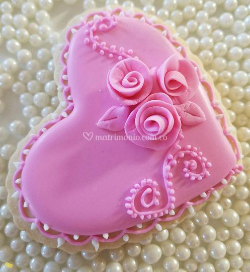 El corazón es rosa