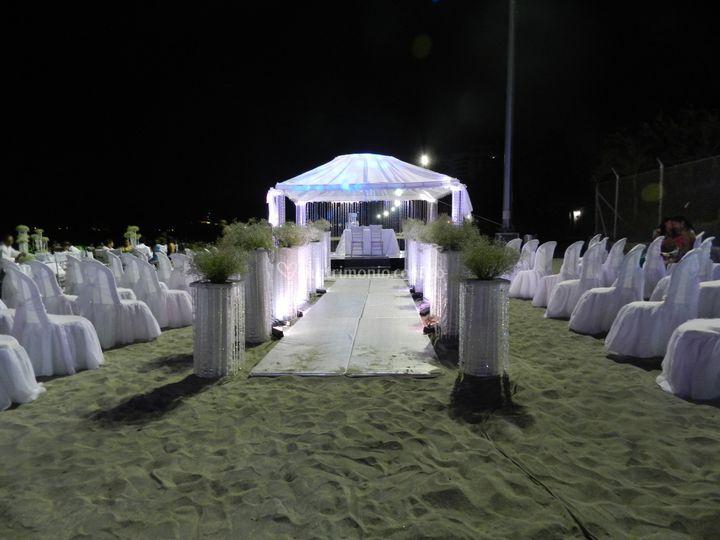 Ceremonia en Santa Marta