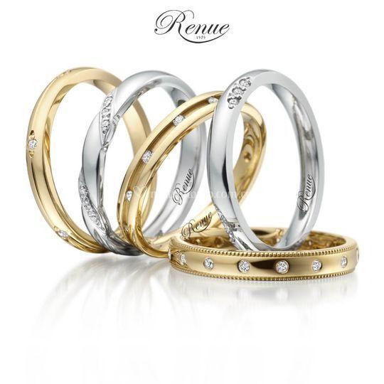 Argollas y anillos oro y plata