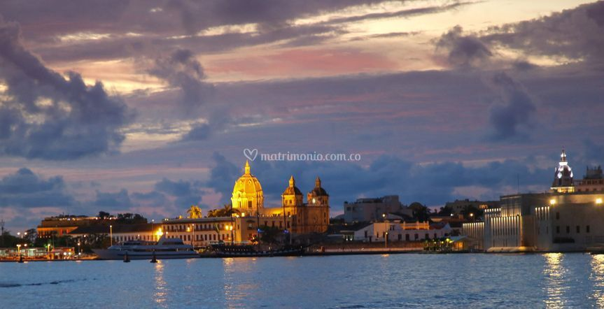 Vistas de Cartagena a bordo