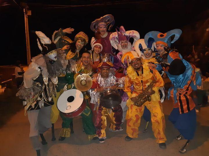 Carnaval de arlequines