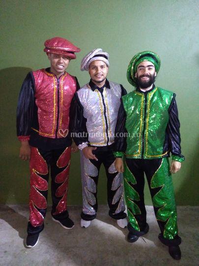 Músicos carnaval