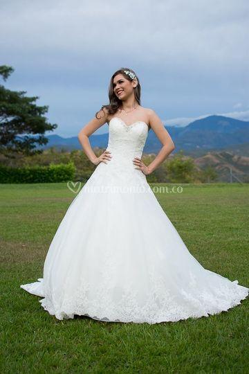 El vestido de novia indicado