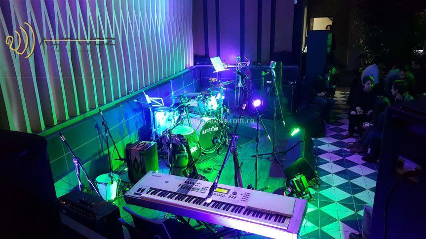 Iluminación y Sonido Rest.