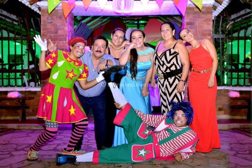 Circus Party recepción