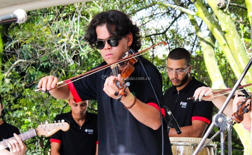 Violín con orquesta
