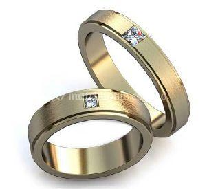 Argolla de matrimonio Oro blan