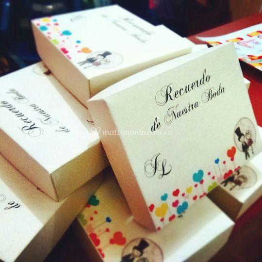 Cajas para recuerdos