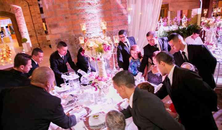 Servicio de mesa-boda