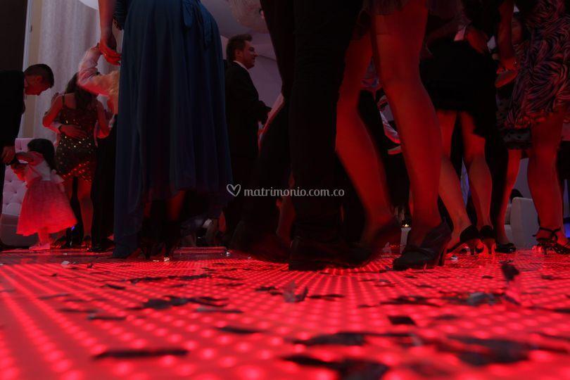 Video pista baile