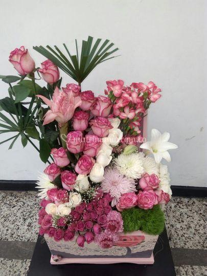 Baules de flores