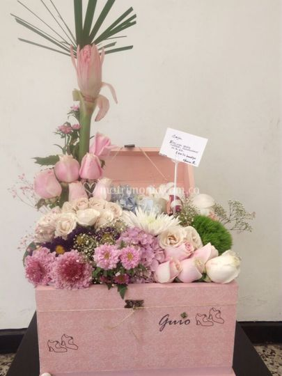 Baul de flores