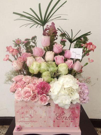 Baul flores