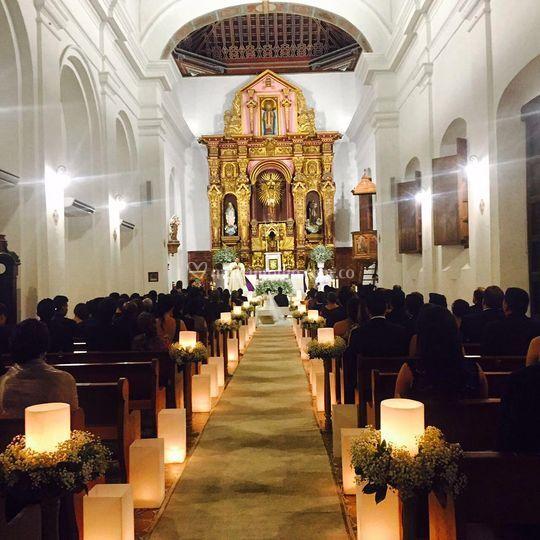 Decoración Santo Toribio