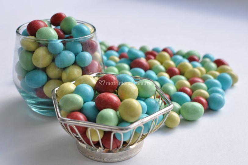 Chocolates para mesa de dulces