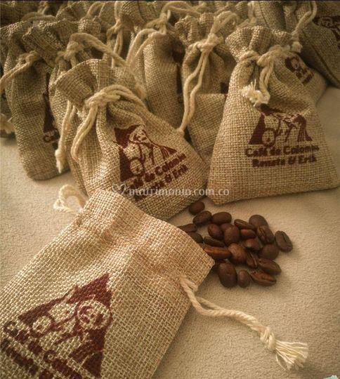 Bolsas de café personalizadas