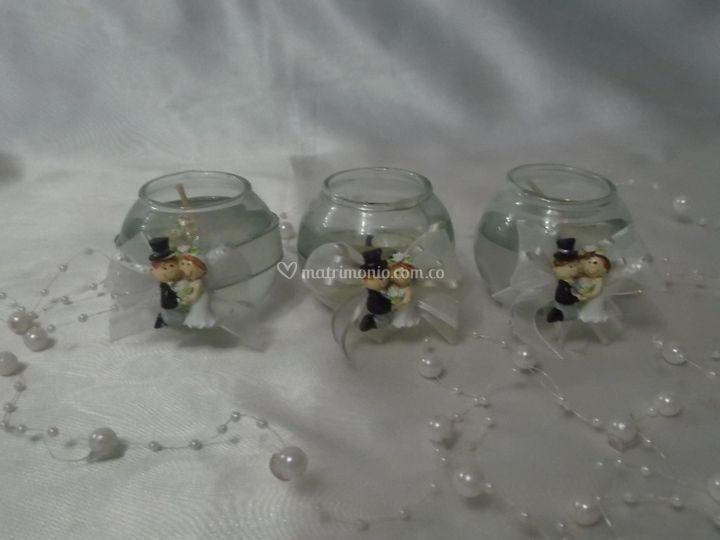 Novios gel pequeña