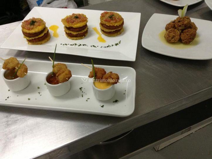 Deconstrucción cocina Colombia