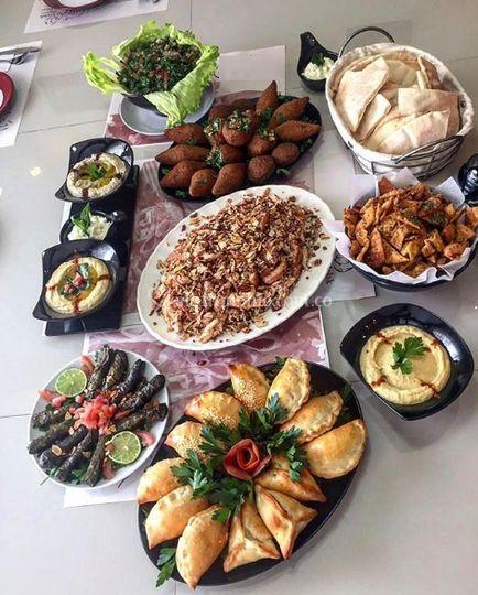 Mesa libanesa
