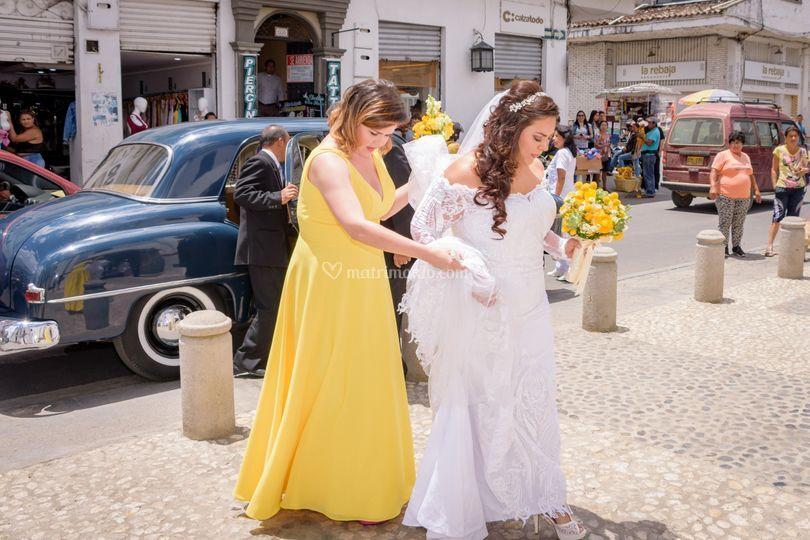 Matrimonio Jessica & Santiago