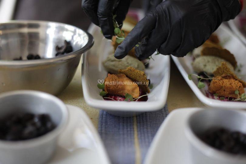 Bodas y recepciones gourmet