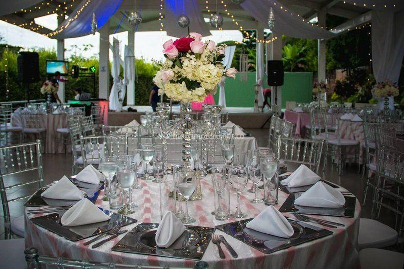 Montaje boda cristal