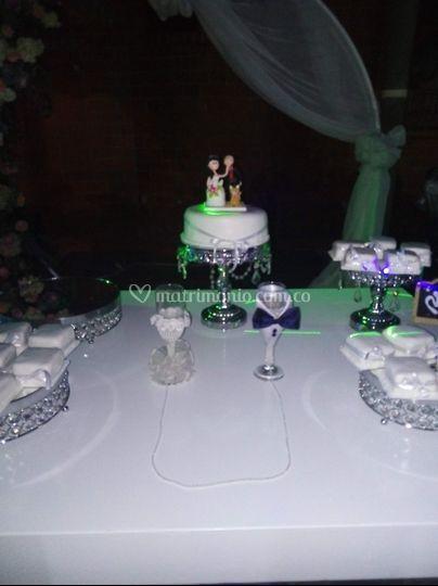 Cup cakes y copas novios