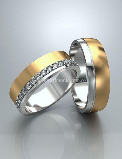 Argollas de matrimonio ARM70