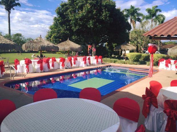 Eventos junto a la piscina