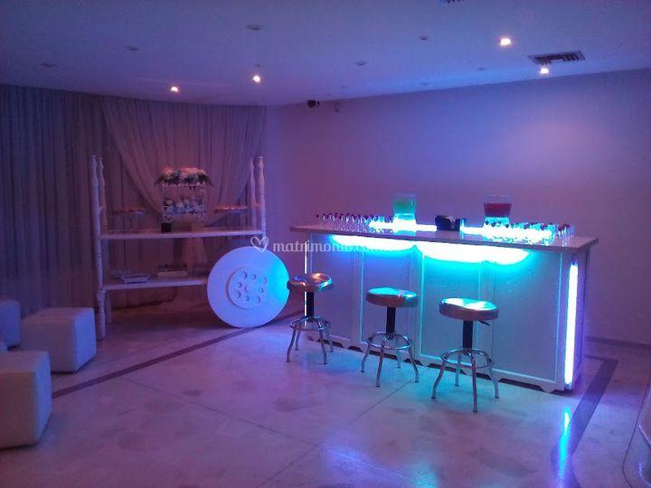 Bar de cocteles de AV Eventos y Publicidad