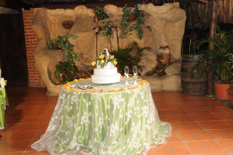 Mesa para torta