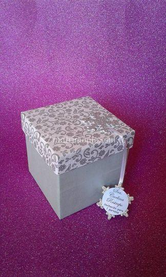Invitación caja polar