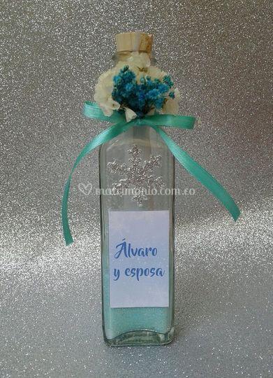 Invitación botella