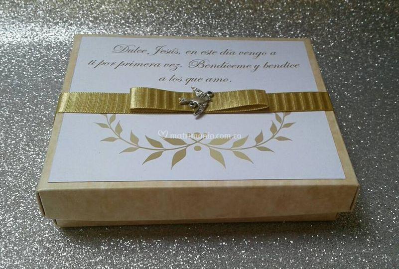 Invitación caja