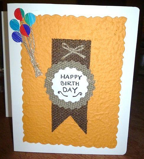 Tarjeta feliz cumpleaños