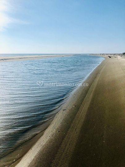 Playa amplia