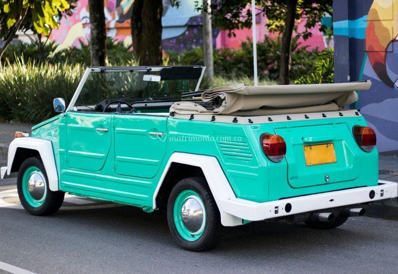 Carro original para boda