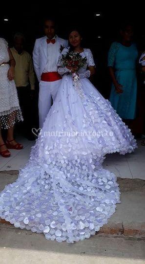 Vestido matrimonio