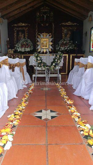 Altar de bodas